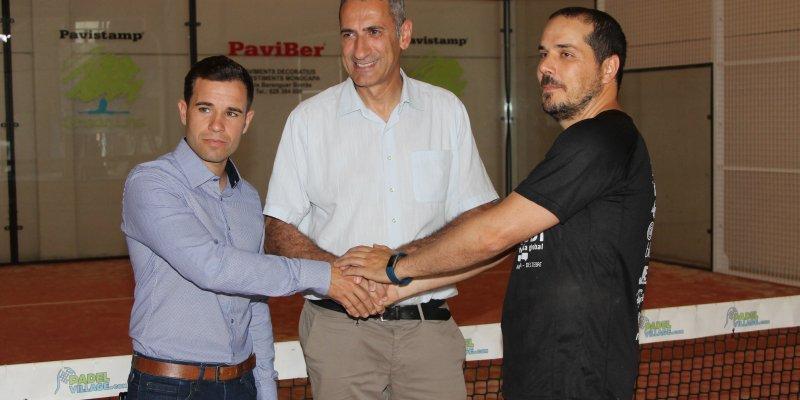 l'Ajuntament de l'Aldea adquireix les 2 pistes de pàdel de l'empresa aldeana Aldea Pàdel.