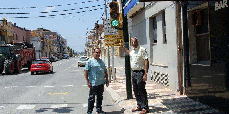 Foto: L'Ajuntament augmenta la seqüència dels semàfors en verd
